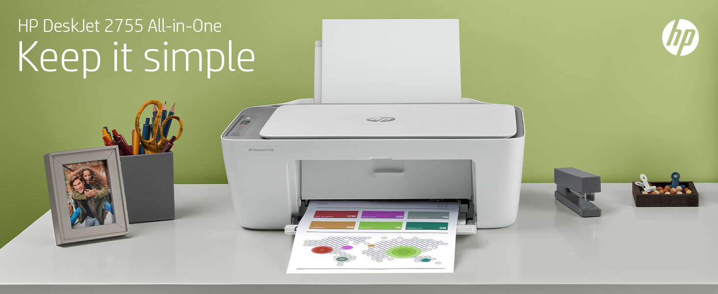 deskjet simple use and setup all-in-one printer