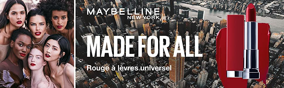 Maybelline New York, Rouge à lèvres, Rouge à lèvres universel, Made For All