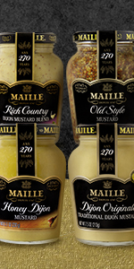 Maille Mustard Mixed 4 pack