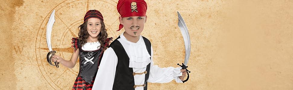 Piratas (Niños)