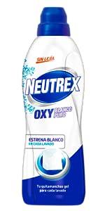 Neutrex Oxy Color, Neutrex Oxy Blanco, Neutrex Transpirex