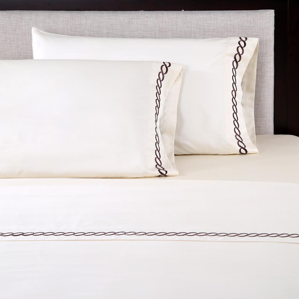 Amazon Com Affluence 600 Thread Count 100 Cotton