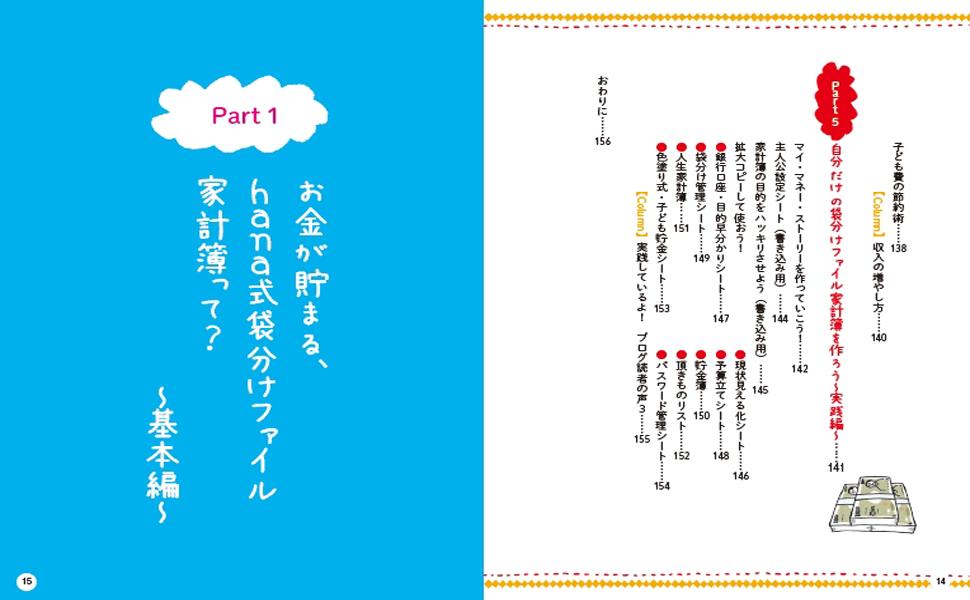 袋分け家計簿04