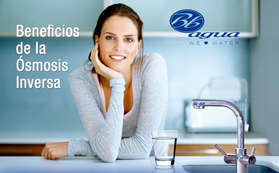 Bbagua Ro-Top Equipo de Osmosis Inversa Compacto de 5 Etapas ...