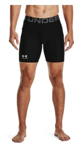 UA HeatGear Armour Compression Shorts