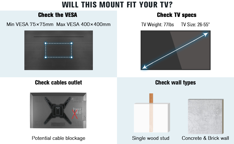 full motion wall mount tv mount 55 icnh wall mount for tv