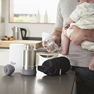 baby travel items on the go portable bottle warmer
