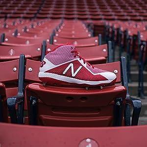 new balance cleat, baseball cleat, men's baseball shoe