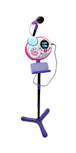 Amazon.com: VTech Kidi Star Karaoke Machine (Pink/Purple) : Sports ...