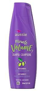 Miracle Volume Shampoo with Bamboo and Australian Kakadu Plum Paraben Free