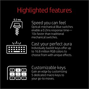 Highlighted features