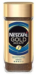 Nescafe, gold, decaff