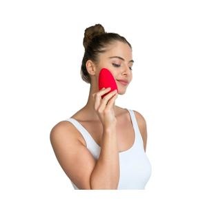 SilkN Bright | Cepillo de limpieza facial con tecnología Sónica | Probado Clínicamente, Colorete, Rojo