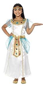 Traje De Chica Cleopatra De Lujo