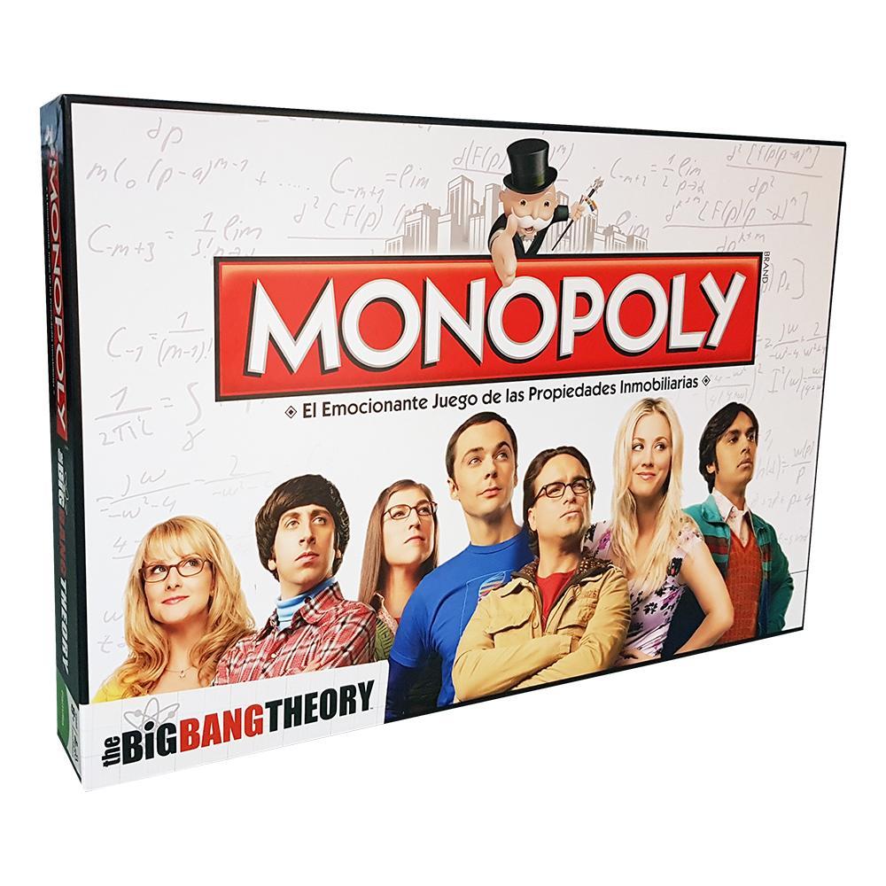 Monopoly The Big Bang Theory (Edición en Castellano