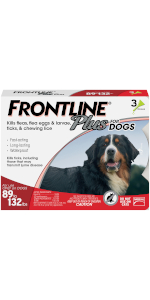 frontlineplus flea and tick for dogas over 55 lbs