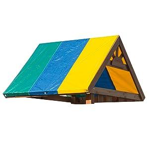 Amazon Com Swing N Slide 52 X 90 Multi Color Swing Set
