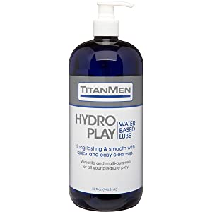 TitanMen, Doc Johnson, Hydro Play, Lube, Lubricant