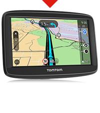 TomTom Start 52 Lite - GPS para coche, 5 pulgadas, mapas de la UE ...