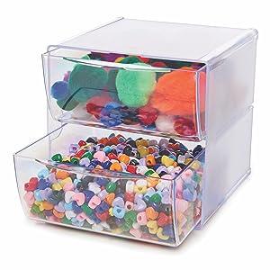 deflecto, deflecto drawer organizer, cube organizer, modular storage, deflecto storage