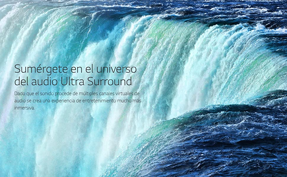 Sumérgete en el universo del audio Ultra Surround