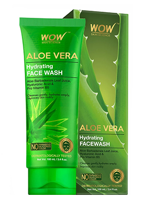 WOW Skin Science Aloe Vera Hydrating Face Wash
