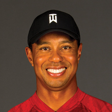 Tiger Woods fits TOUR B XS