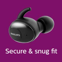 Philips UpBeat SHB2505BK for running and sports