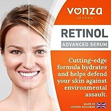 Anti-aging Retinol Serum with Hyaluronic Acid