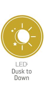 LED+ Dusk to Dawn