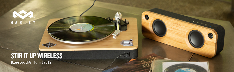 sustainable bluetooth record player