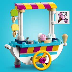 41389 LEGO Friends Ice Cream Cart 97 Pieces Age 6 Years+