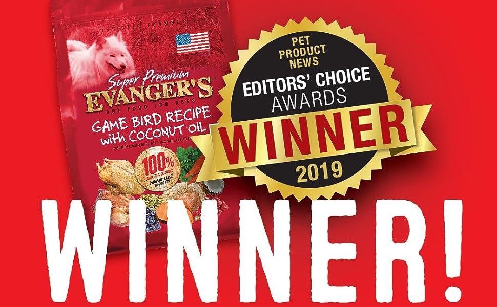 winner best dry food low grain pea free
