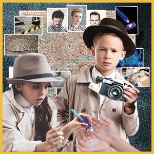 forensic science,forensic science gifts,true crime gifts,crime scene kit for kids,csi kit for kids