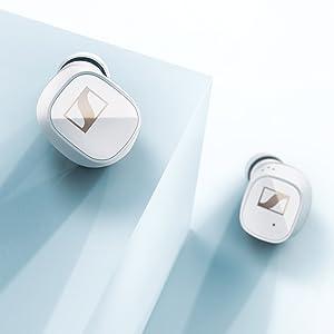 CX 400BT True Wireless earbuds white