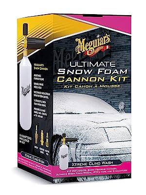 Meguiar S G194000eu Ultimate Snow Foam Cannon Kit Schaumkanone Auto