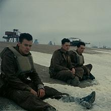 Dunkerque;Dunkirk;IMAX;CGI;effets spéciaux;soldats,plage;guerre;WW2;nazis;allemands;RAF;SpitFire