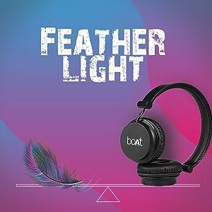 Lightweight headphone