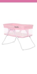 bassinet, cradle, dream on me, meghan, lightweight, portable