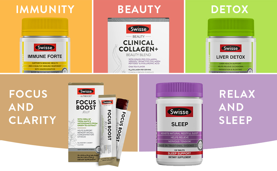 Swisse Vitamins and Herbal Supplements