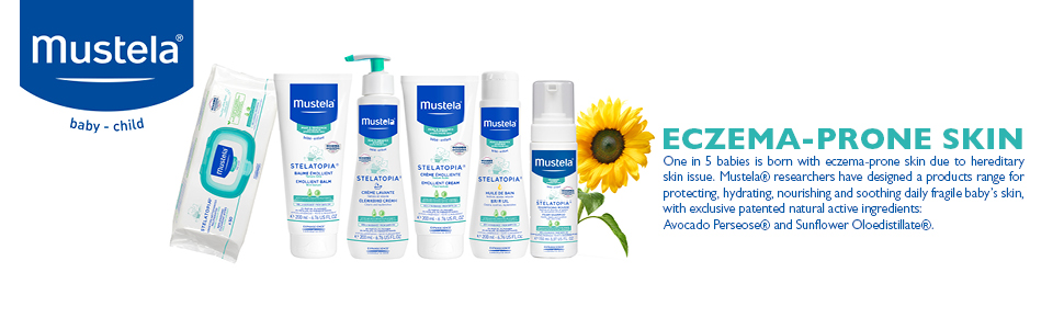 Mustela eczema prone skin banner