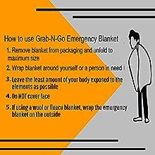 Emergency Silver Blanket, Mylar Blanket