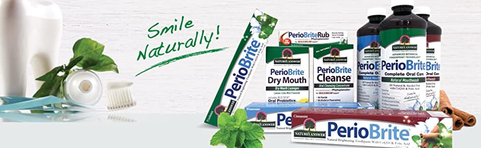 PerioBrite, Natural Toothpaste, Oral Care, Extracts, Herbal