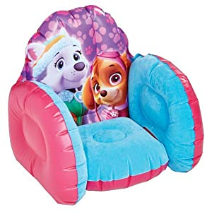 Paw Patrol Skye Kids Toddler Bed With Underbed Storage