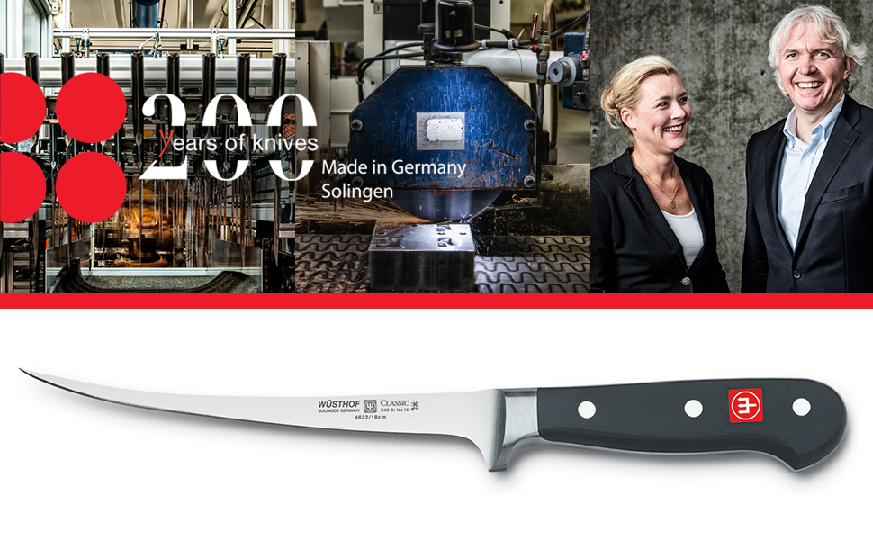 200 years of knives classic fillet knife