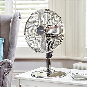 Ventilateur inclinable de table