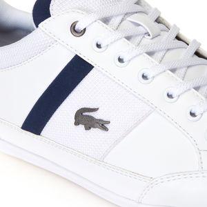 Lacoste Men's CHAYMON Sneaker White, 9