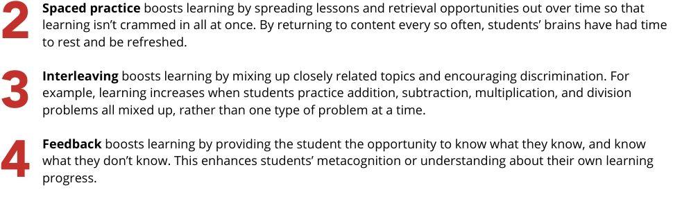 powerful teaching, science-based teaching, science-based learning, science of learning