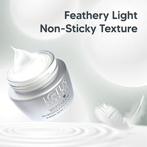 Feathery Light Non-Sticky Texture