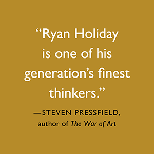 Ego Is The Enemy, Ryan Holiday, ryan holiday books